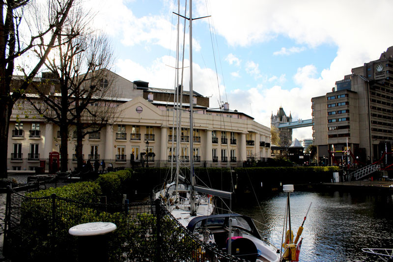 St Katharine Docks - Weekend Travel Flash