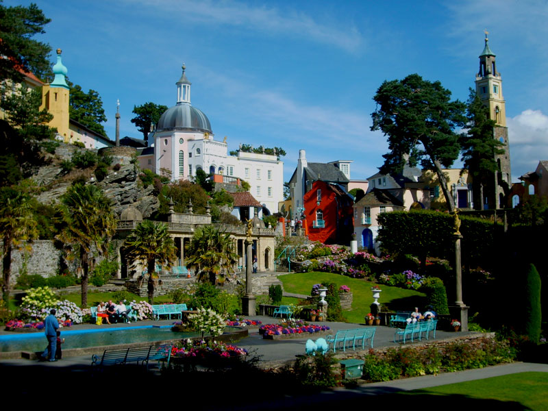 UK road trip Portmeirion