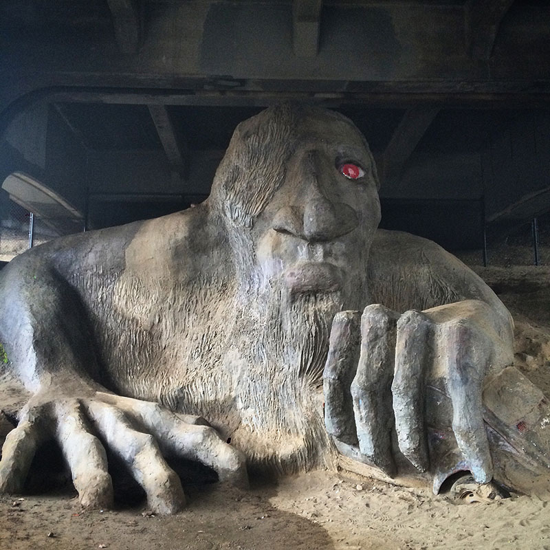 Seattle---Fremont-Troll