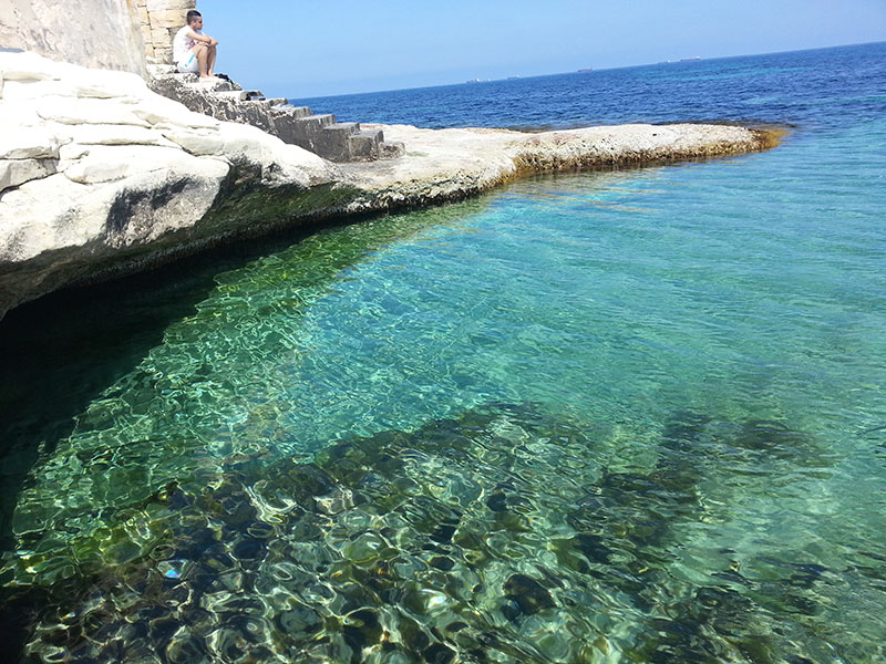 first-swim-marsaskala