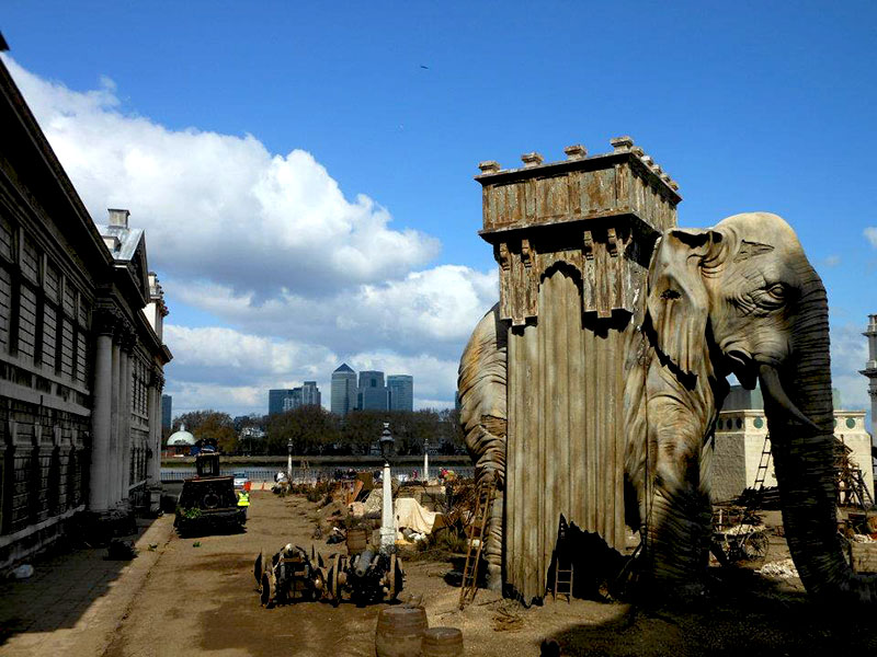 Les Miserables set