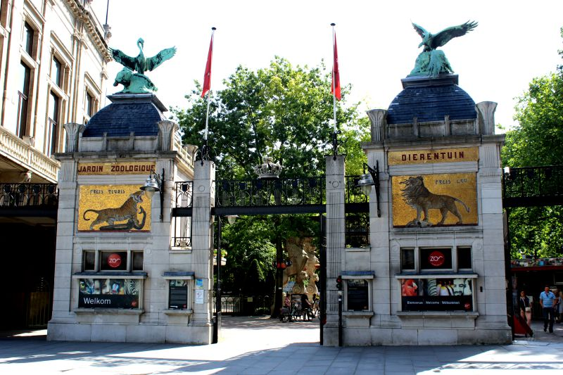 antwerp zoo entrance