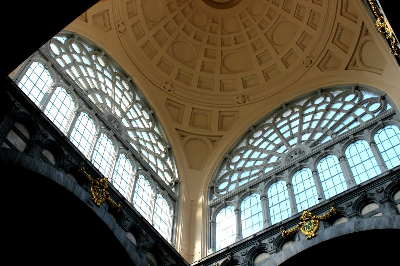dome central station antwerp