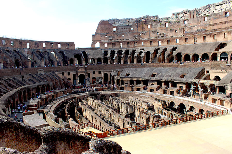 an examination of the roman coliseum Coliseum was one of the most important architectural works of ancient rome, which played an important cultural, social and political role in rome coliseum was a truly colossal work of ancient architects, who had managed to create a masterpiece using resources and technologies available to ancient romans.