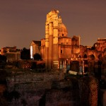 rome-forum-at-night