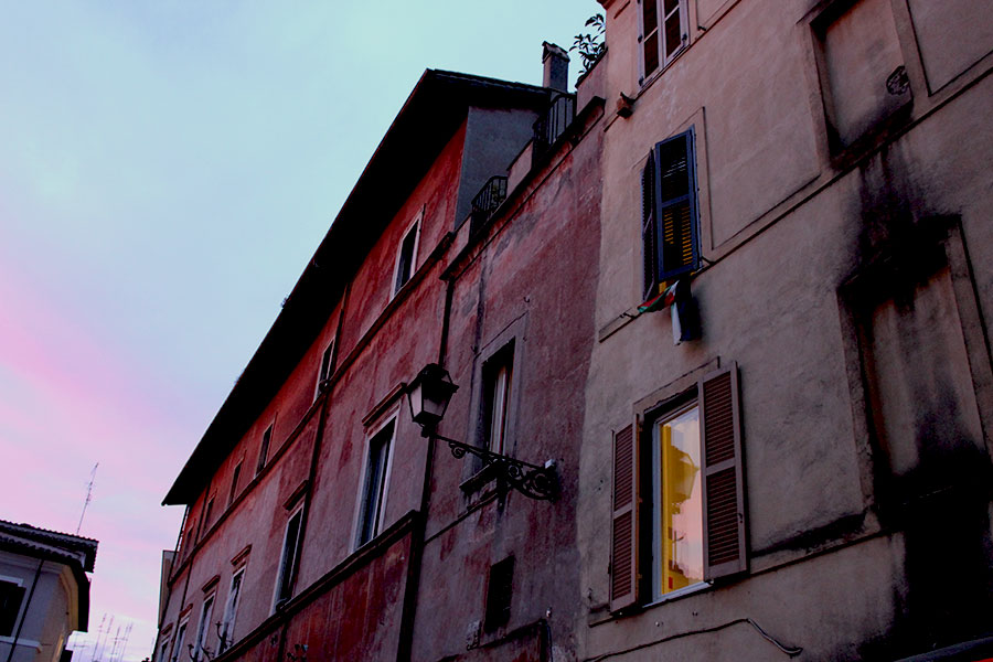 trastevere-sunset