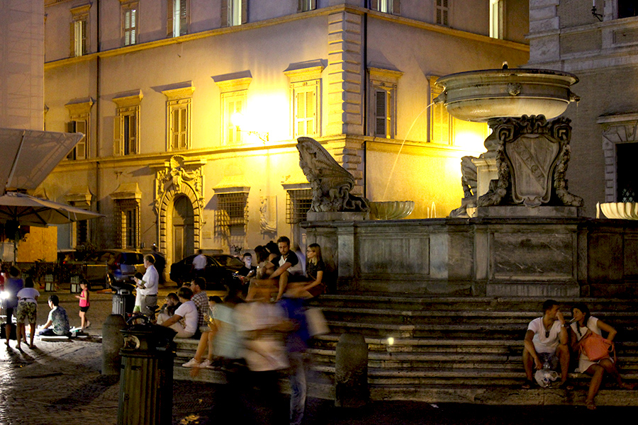 trastevere-fountain