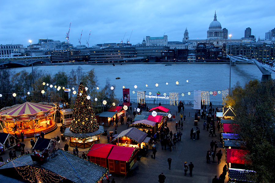 christmas-market-tate-modern-london