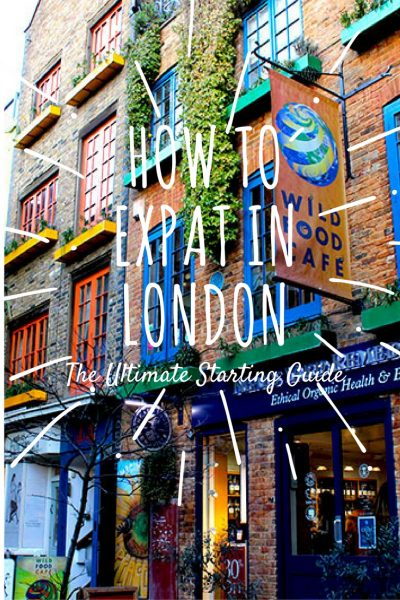 Pinterest how to expat in London