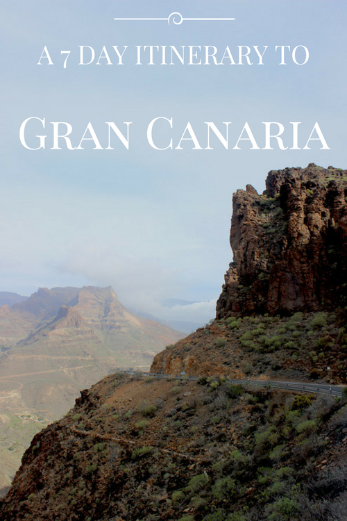 A Seven Day Itinerary to Gran Canaria