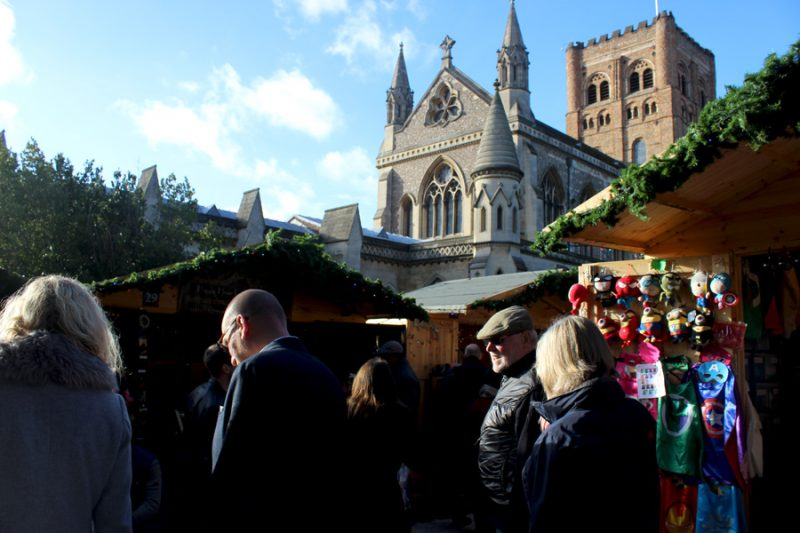 St Albans -  Christmas in London