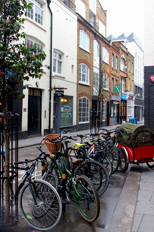 Bicycles-Shoreditch