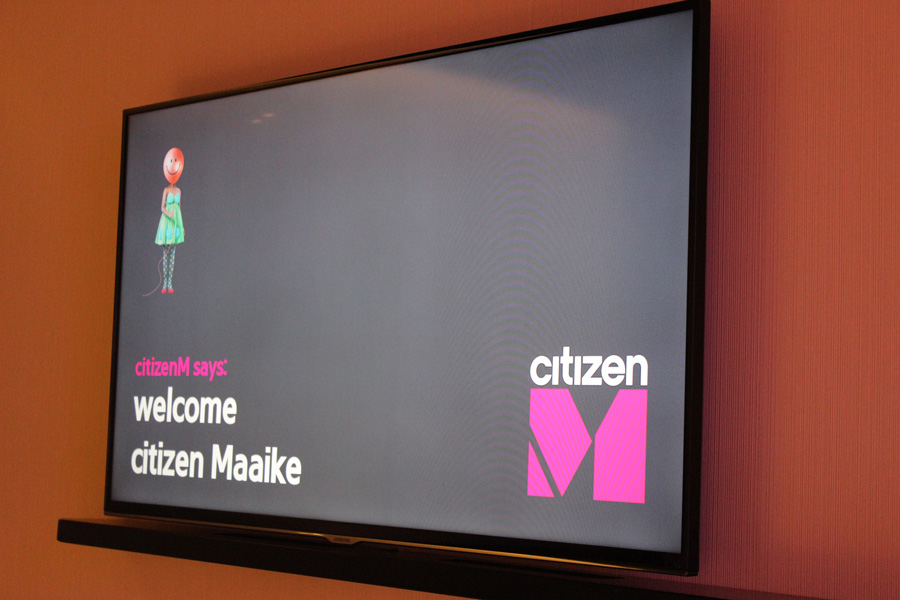 CitizenM-TV