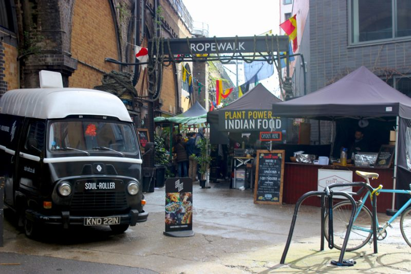 Walk the Walk: From Maltby Street to Bankside to The Banksy Tunnel
