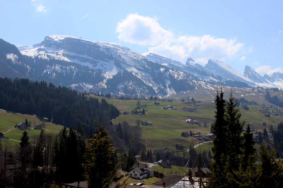 Mountains-Appenzell-District