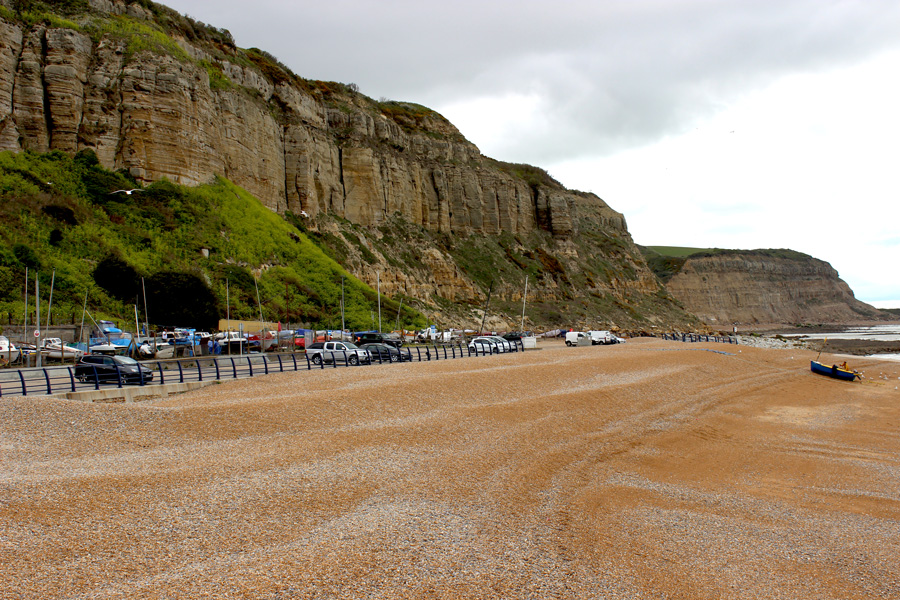Hastings-beach-cliffs