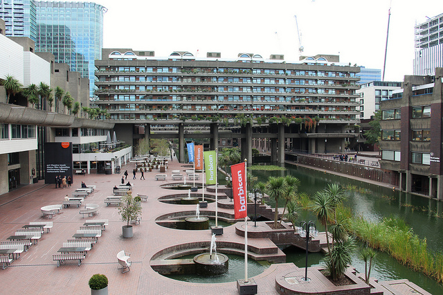 Barbican Lakeside Terrace