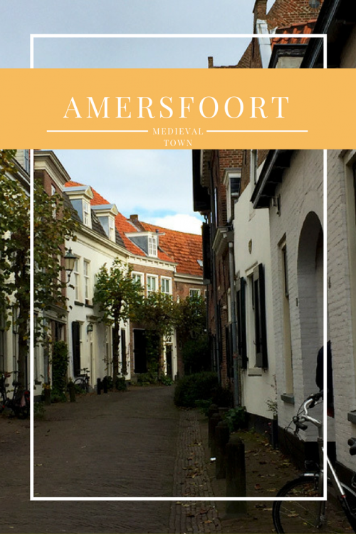 Strolling through the medieval town of Amersfoort. Only 35min from Amsterdam