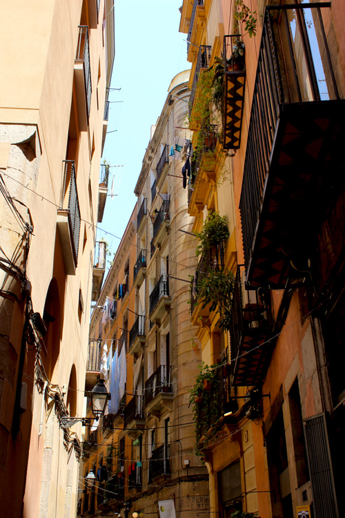Barcelona-alley