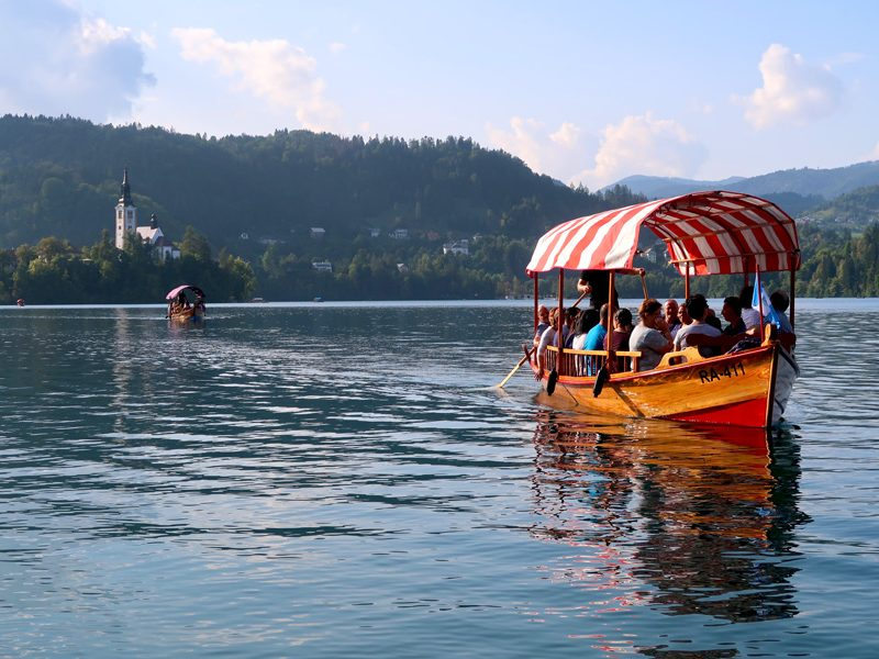 Exploring Lake Bled