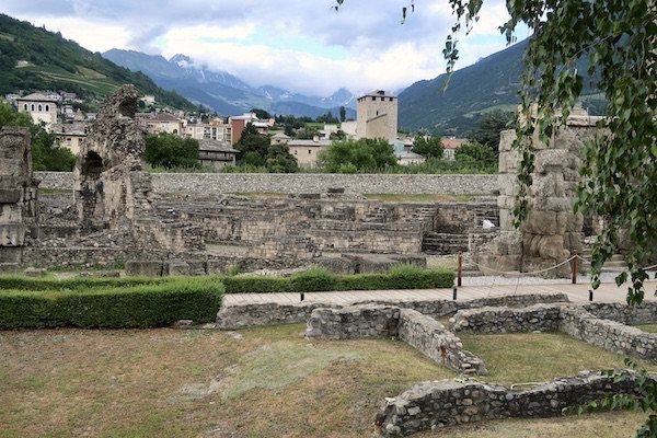 Roman remains Aosta
