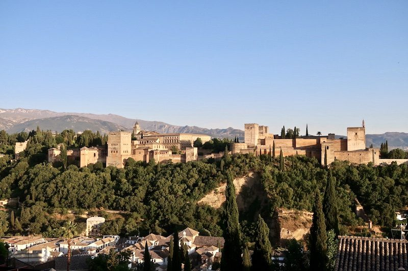 alhambra from mirodor san nicolas viewpoint