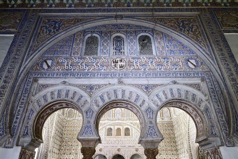 moorish decorations real de alcazar