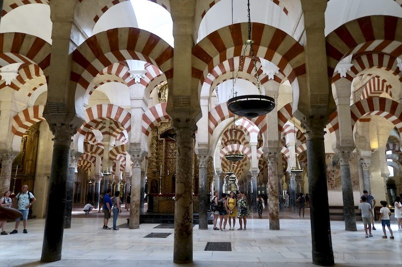 mosque cathedral cordoba andalucia